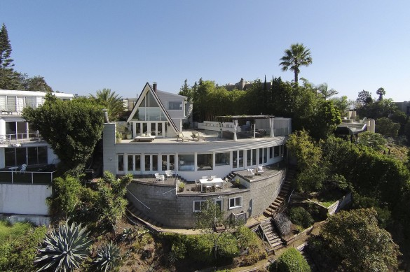Partners Trust Hollywood Hills Listing Featured in Wall Street Journal