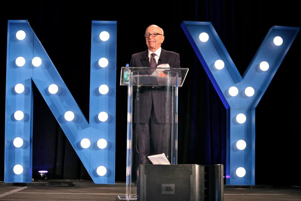 Real Estate Connect NYC 2015: Rupert Murdoch Keynote Address