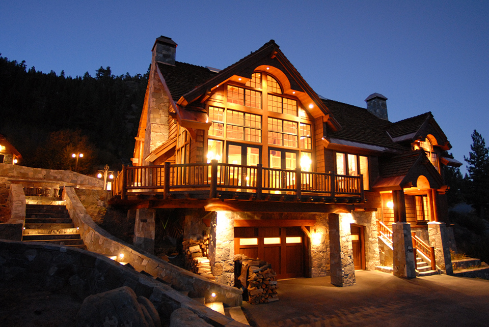 Winter Destination Majestic Mountain Homes