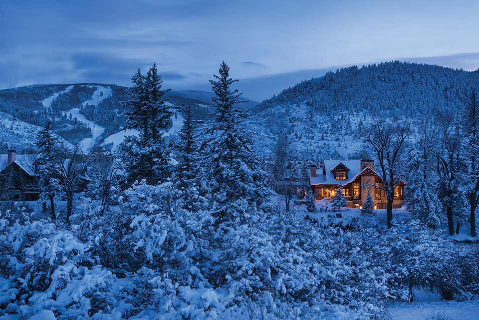 Winter Destination Majestic Mountain Homes