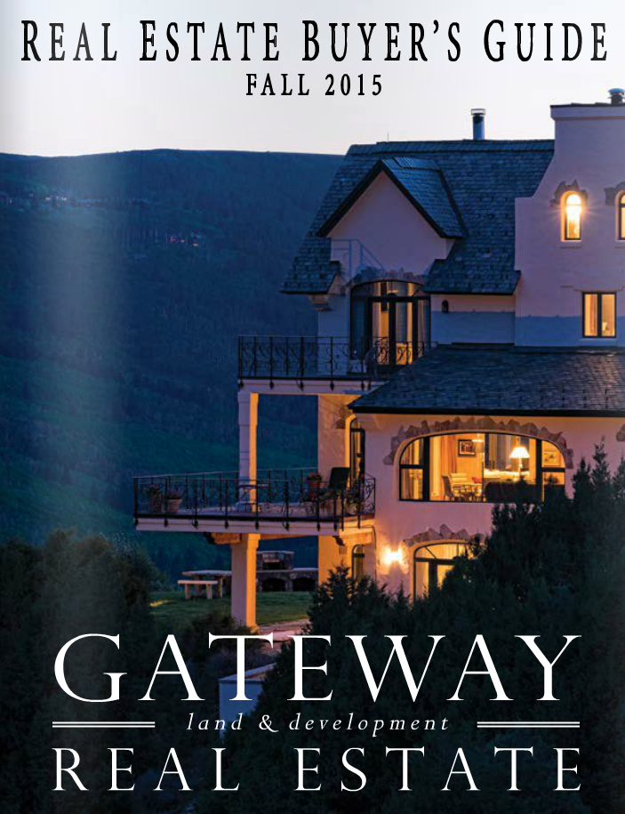 Gateway Land & Development Real Estate: Fall 2015 Buyer's Guide