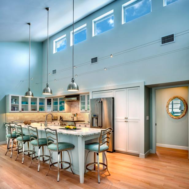 Kitchen Design Articles: Home Design Trends: Luxurious Contemporary Kitchens
