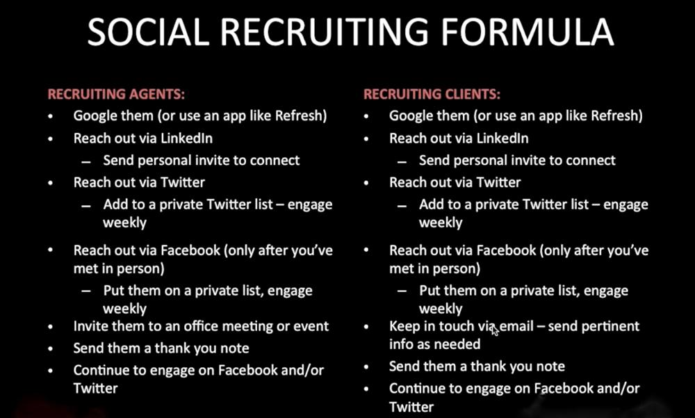 webinar recap recruiting retaining clients using social media