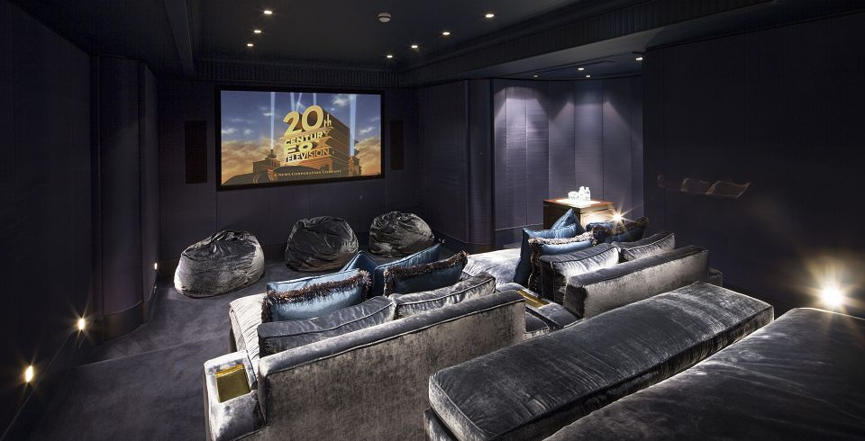 5 Intimate And Velvety Private Theater