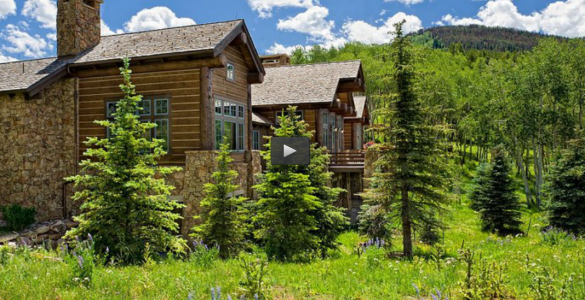 Epic TV Log Home