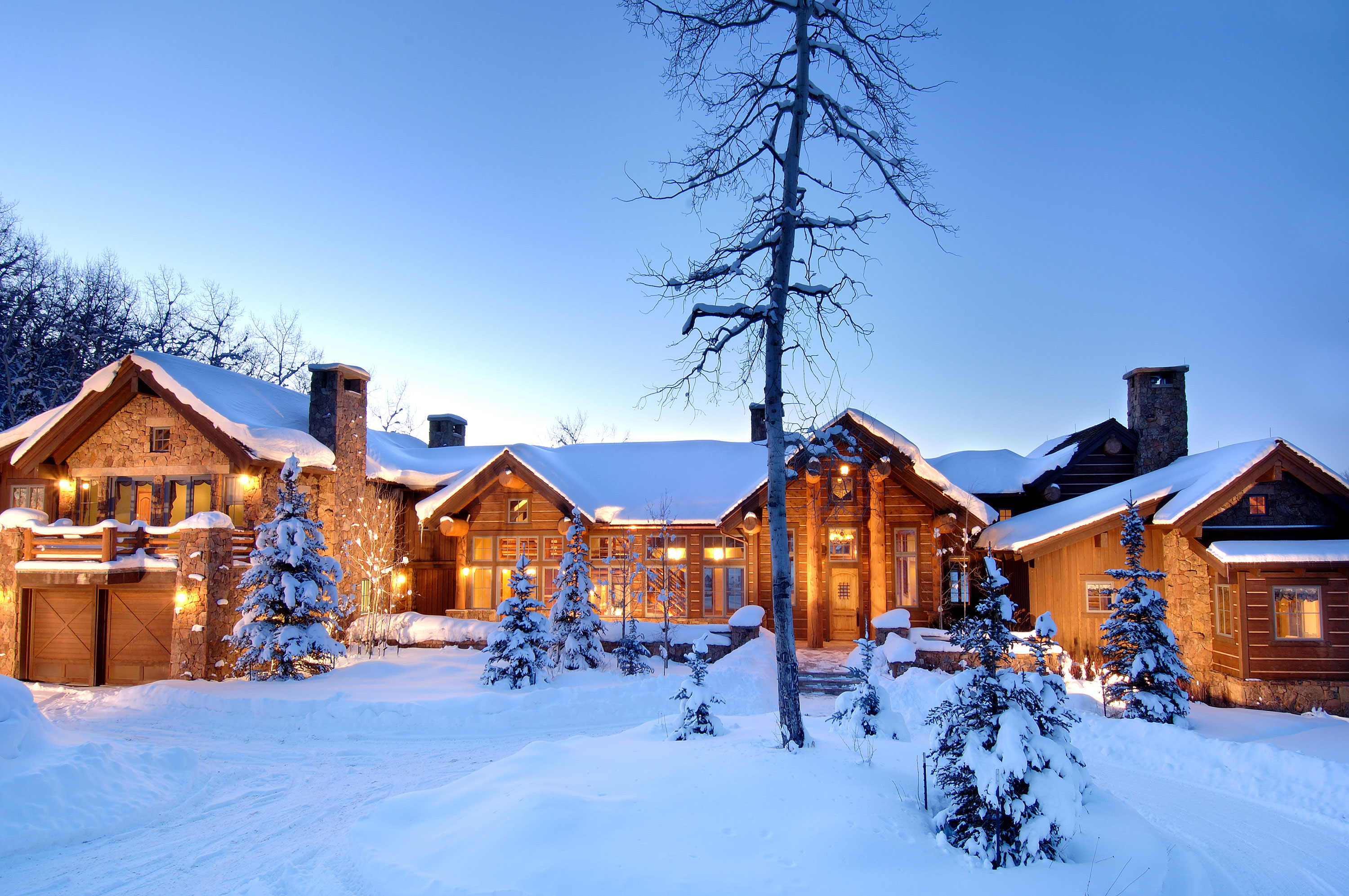 Epic Colorado Log Home