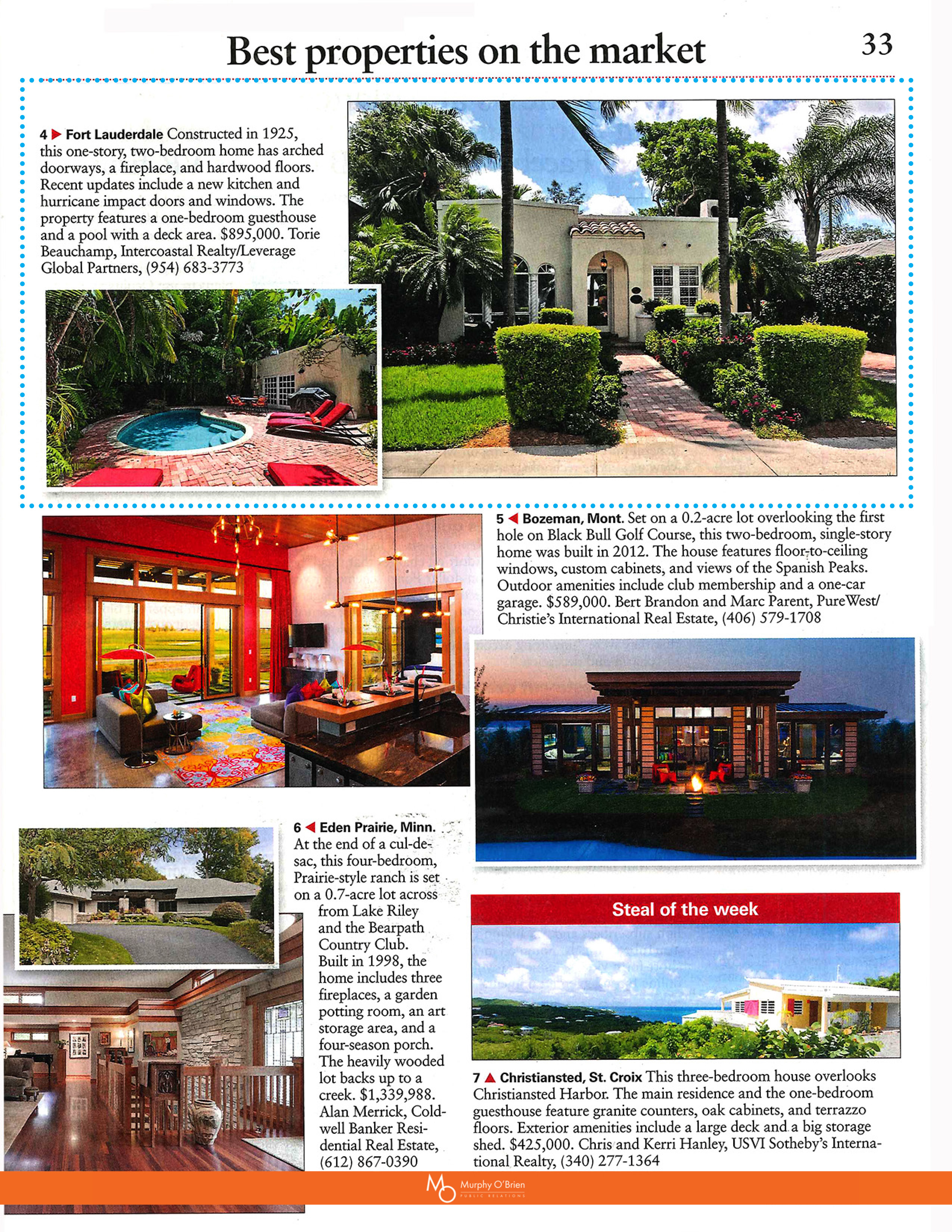 Intercoastal Realty in The Week