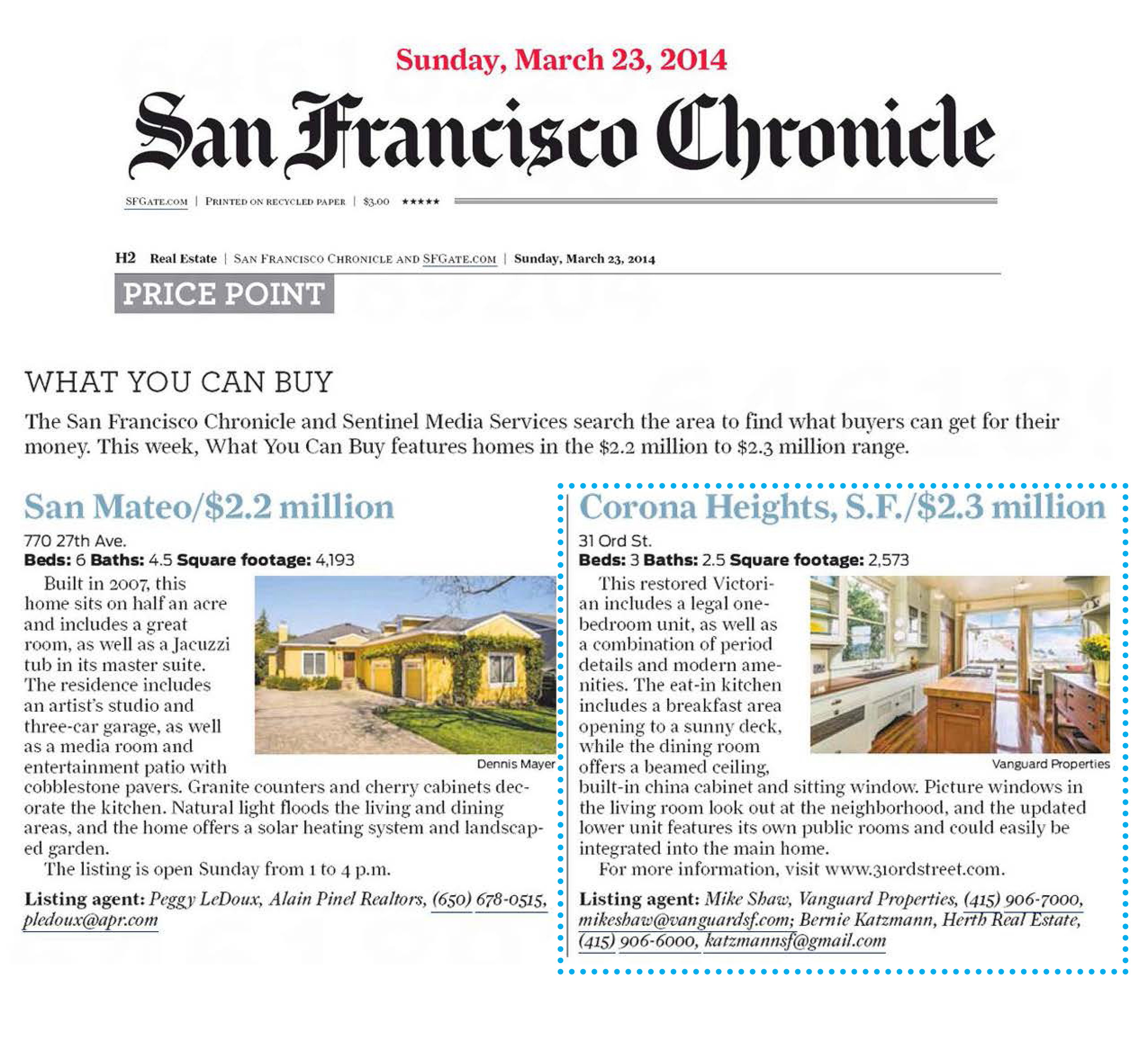 Vanguard Properties SF Chronicle