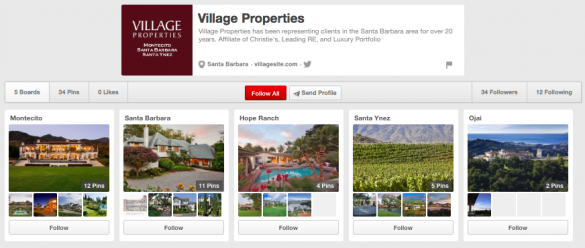 Village Properties Pinterest