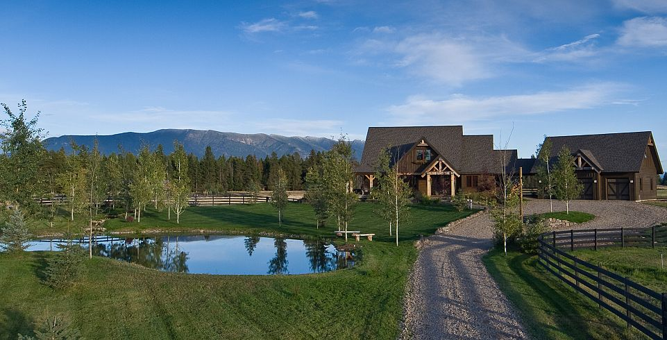 ... with jaw dropping views of the Whitefish Mountain Resort and Glacier  National Park. This stunning setting offers luxury mountain living at its  finest, ...