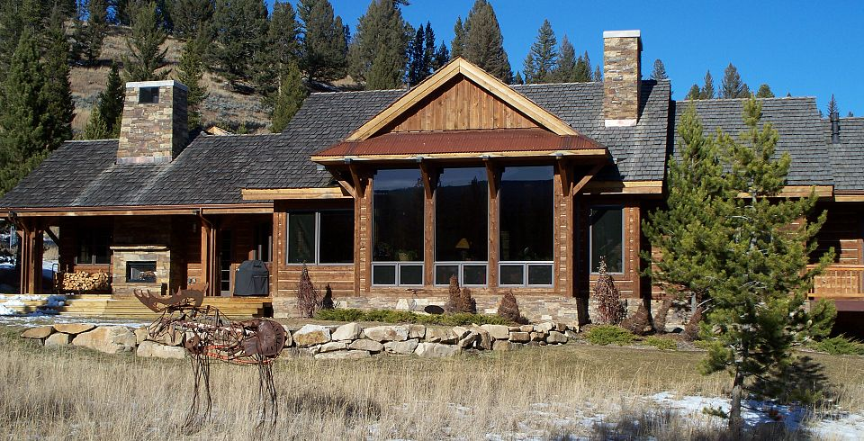 This Rustic Ranch Home Is Located In The Exclusive Spanish Peaks