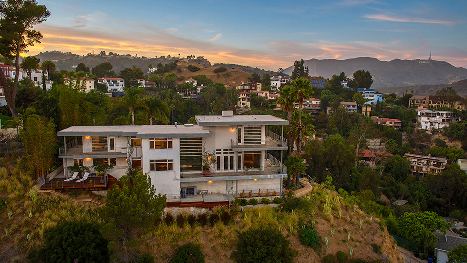 Partners Trust - Gary Johns House Hollywood Sign View
