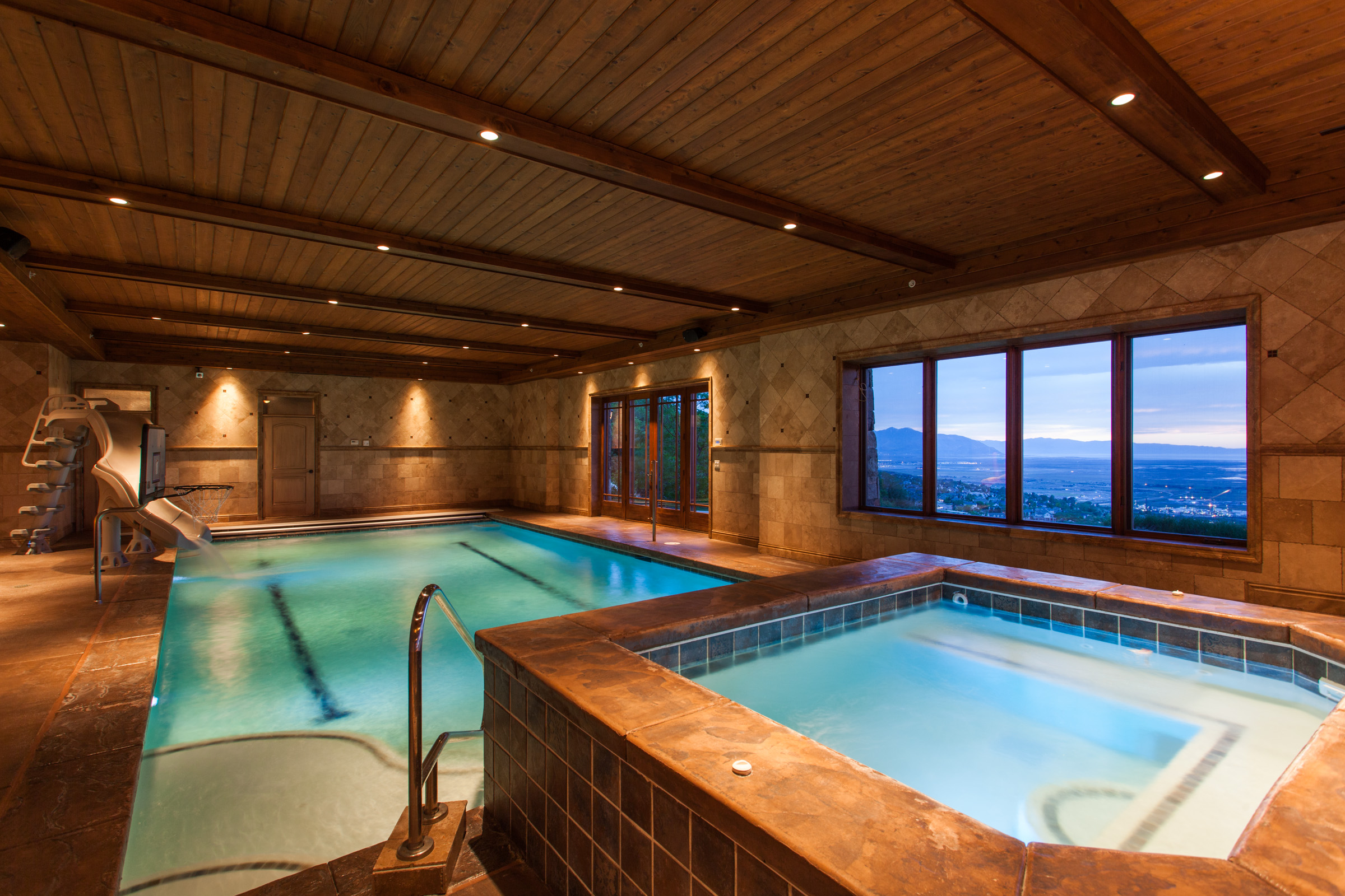 Inside Pool the ultimate luxury amenity: lavish indoor pools