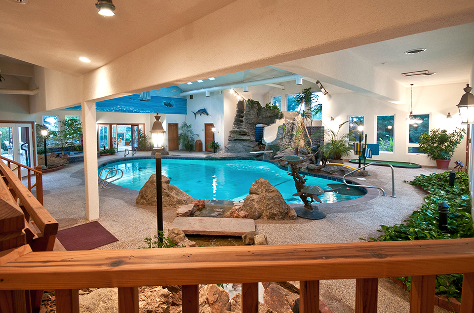 Private indoor pool  The Ultimate Luxury Amenity: Lavish Indoor Pools