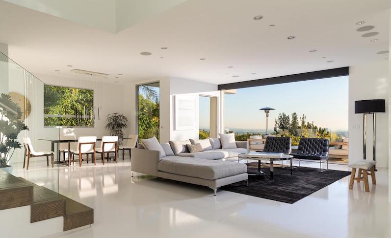 Harry Styles Lists His Modern Sunset Strip Villa Leverage