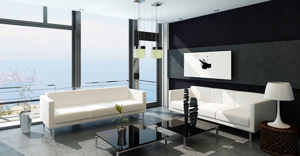 Home Design Trends Black White Style Leverage