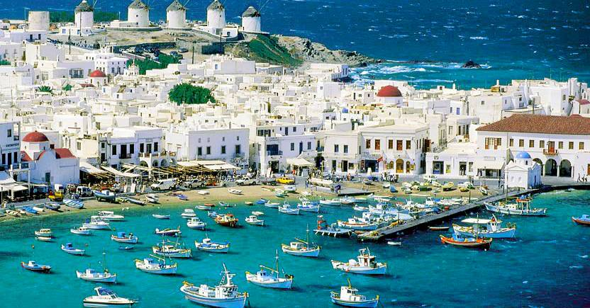 Mykonos Greece Seaside Highlights And Ocean Activities