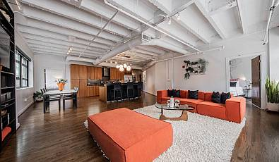 Corner Loft With Expansive Midtown Skyline Views