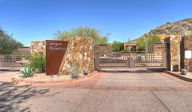 Canyon Reserve Custom Lot