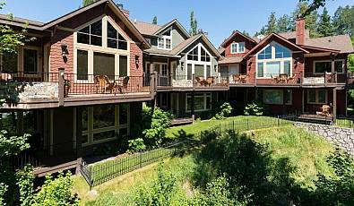 3 Cottages in the heart of Bigfork overlooking the Wild Mile on the Swam River!