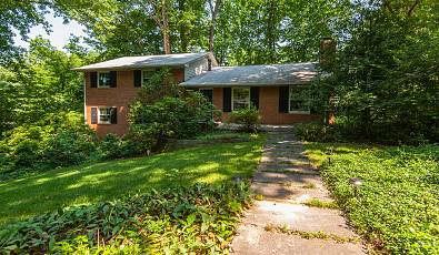 Spacious Brick Home on Private Wooded Cul-De-Sac