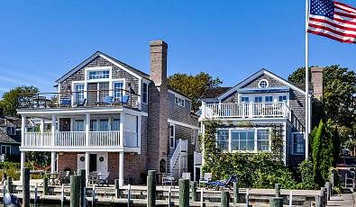 Spectacular Waterfront Compound On Historic Edgartown Harbor