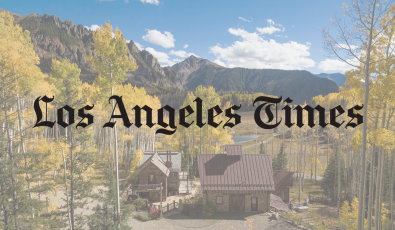 The Los Angeles Times features Telluride Properties' 115 Acres Gold Creek Ranch