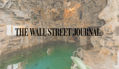 As Seen in WSJ: This Kansas Megamansion Has a Network of Underground Scuba Tunnels