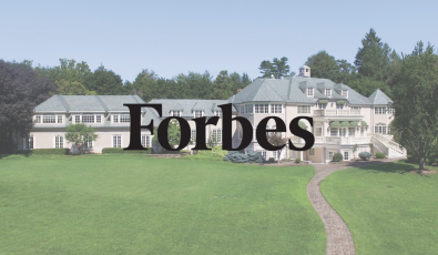 As seen in Forbes: An $11.5 Million French Chateau Blooms In the Garden State
