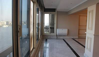 Luxury apartment for Sale in Corniche El Nile St, Cairo, overlooking the Nile