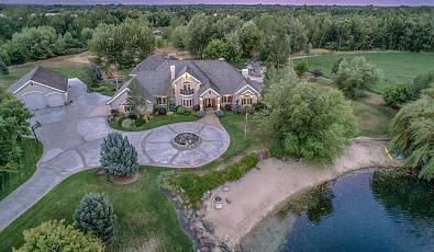 Prestigious Estate Home on River