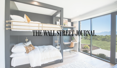 As Seen in WSJ: Adult Bunk Beds - A Snuggly Space-Saving Option