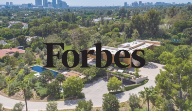 As Seen in Forbes: California Estate with Ties to Hollywood Cuts Price to $82M