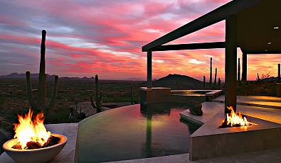 Top 10 Most Luxurious Outdoor Spaces to Watch the Sunset