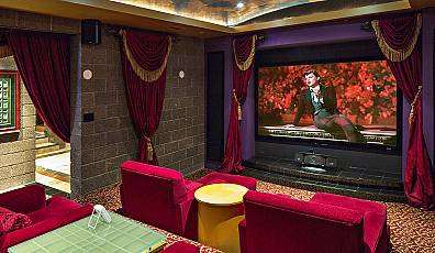 For the Film Fanatic: Ultra-Luxurious Home Theaters