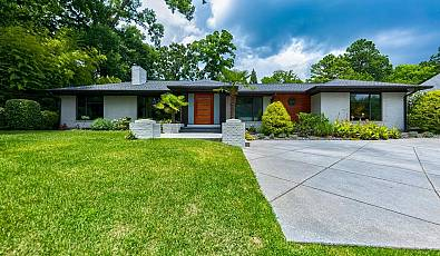 Palm Springs Midcentury Modern in the Heart of Atlanta