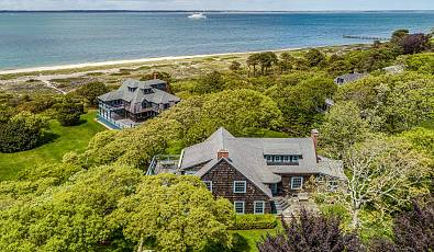 Exquisite West Chop Beachfront Estate On Martha's Vineyard