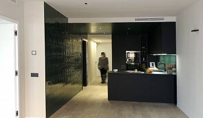 New Promotion 3 design flats in saragossa street in Barcelona