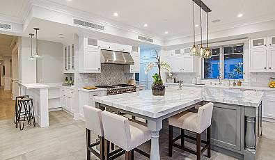 Home Design Trends: Luxurious Contemporary Kitchens