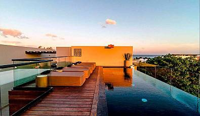 Gorgeous 3 Bd. Penthouse in the most luxurious area of Playa del Carmen - Riviera Maya