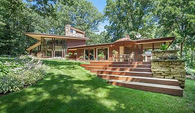 Wisconsin Modern: Frank Lloyd Wright-Inspired Home