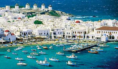 Mykonos, Greece: Seaside Highlights And Ocean Activities
