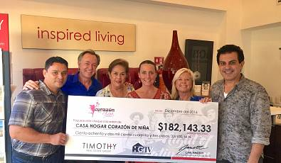 Timothy Real Estate Group Gets Big Donations from 'House Hunters International' Charity Event