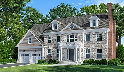 Breathtaking Home To Be Built: 23 Innes Road Scarsdale, NY