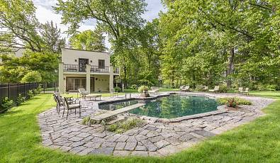 Majestic Mediterranean Estate in Scarsdale, NY