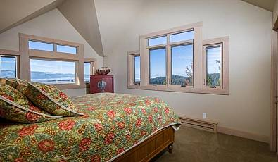 Custom Home overlooking Flathead Lake and the Flathead Valley!